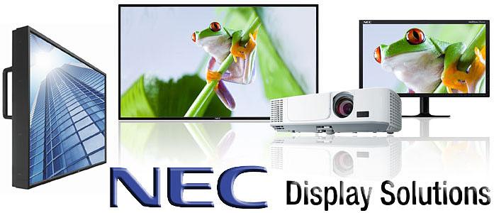 NEC monitorok és projektorok